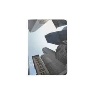 Fish-eye lens of building, Boston, US Passport Holder