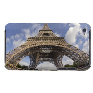 Fish eye shot of Eiffel tower Case-Mate iPod Touch Case