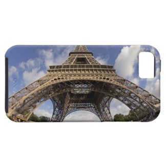 Fish eye shot of Eiffel tower iPhone 5 Covers