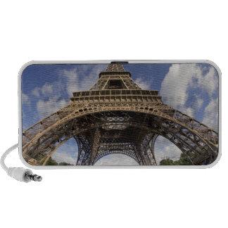 Fish eye shot of Eiffel tower Mp3 Speaker