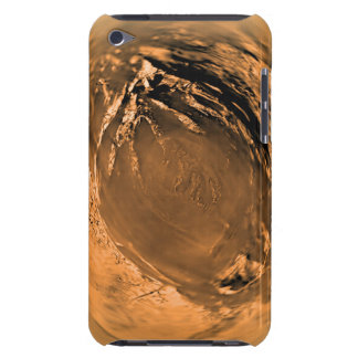 Fish-eye View of Titan's Surface Barely There iPod Covers