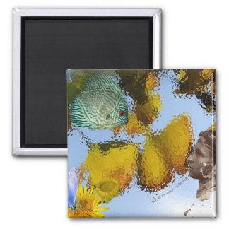 Fish & Faery Fridge Magnet
