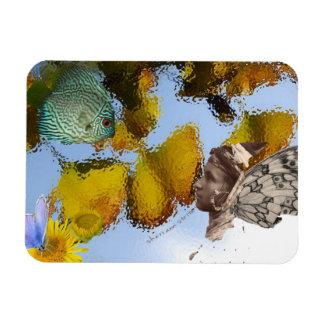 Fish & Faery Magnet
