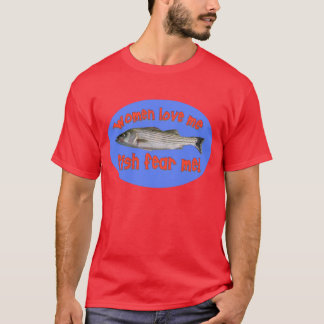 Fish Fear Me Blue T-Shirt