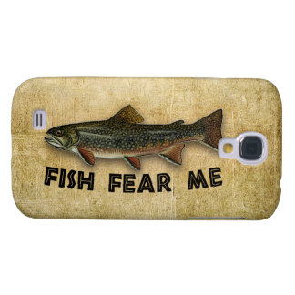 Fish Fear Me Funny Fishing Galaxy S4 Case