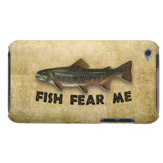 Fish Fear Me Funny Fishing iPod Touch Case-Mate Case