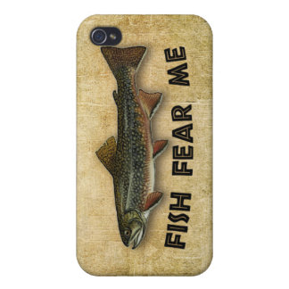 Fish Fear Me Funny Fishing Case For The iPhone 4