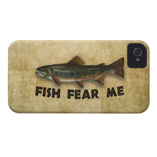 Fish Fear Me Funny Fishing iPhone 4 Case