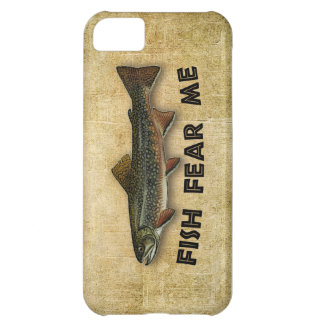 Fish Fear Me Funny Fishing iPhone 5C Case