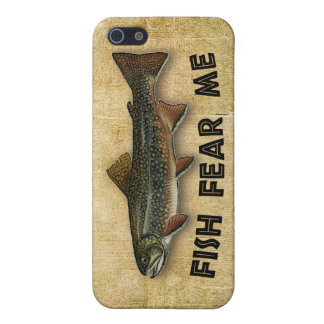 Fish Fear Me Funny Fishing iPhone 5/5S Case
