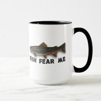 Fish Fear Me Funny Fishing Sports Mug