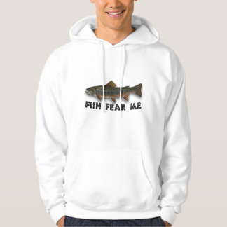 Fish Fear Me Funny Fishing Sports Pullover