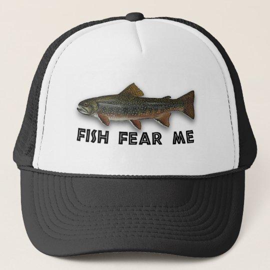 Fish Fear Me Funny Fishing Sports Trucker Hat