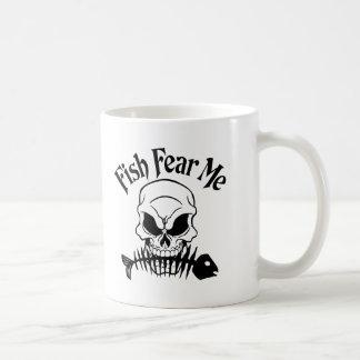 Fish Fear Me Coffee Mug