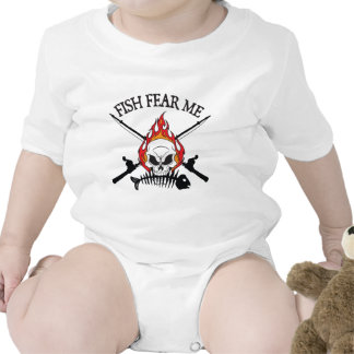 Fish Fear Me Pirate T-shirts