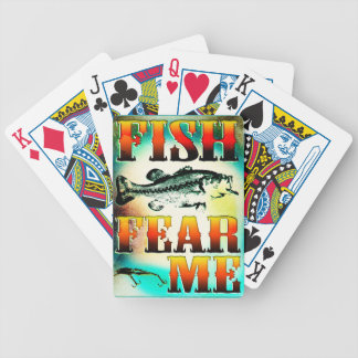 Fish Fear Me Playing Cards