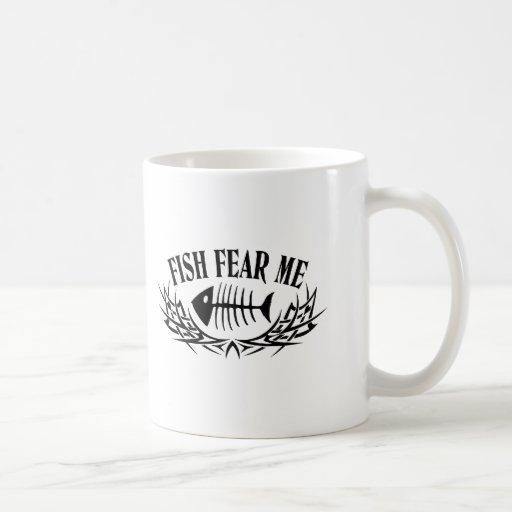 Fish Fear Me Tattoo Mug
