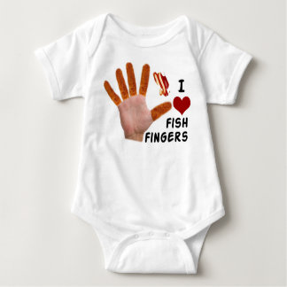 fish finger.png baby bodysuit