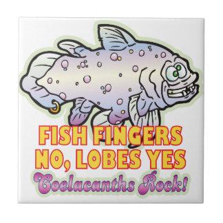 Fish Fingers Coelacanth Ceramic Tile