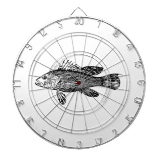 Fish Fisherman Sea Collection Dartboard