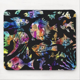 fish fishy fish mouse pads