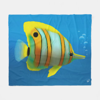 FISH - Fleece Blanket (MEDIUM)