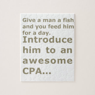 Fish for a day or Awesome CPA Jigsaw Puzzle