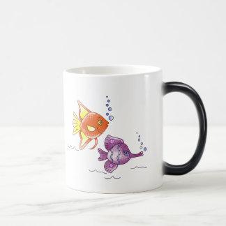 Fish Friends Magic Mug