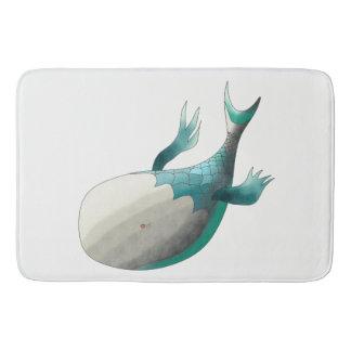 Fish from deep sea bath mat