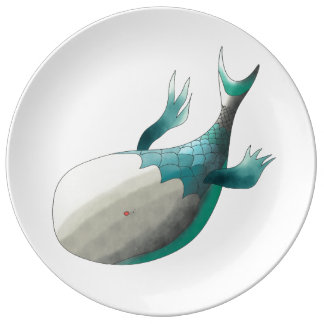 Fish from deep sea plate