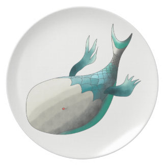 Fish from deep sea plates