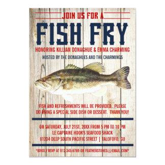 Fish Fry Party Invitations