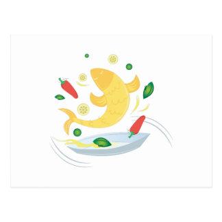Fish Fry Postcard