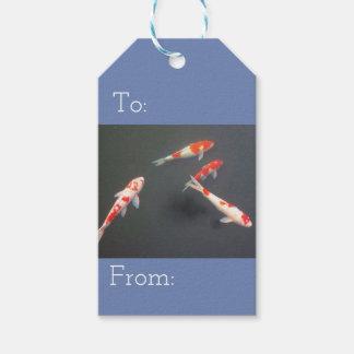 fish gift tag