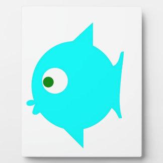 Fish GP Display Plaque