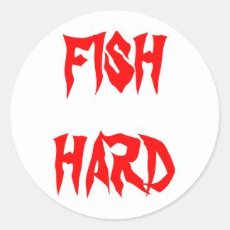 FISH HARD STICKERS