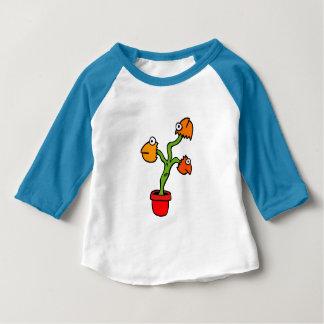 Fish Head Plant Baby T-Shirt