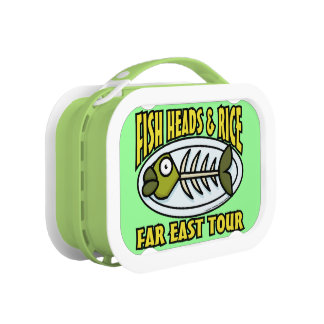 Fish Heads and Rice Lunchbox
