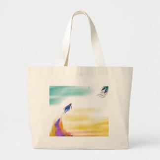 fish heaven jumbo tote bag