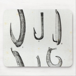 Fish-hooks of Prehistoric and Uncivilised Mouse Pad