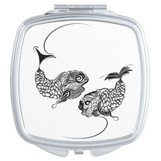 Fish, Horoscope, Zodiac, Pisces Travel Mirror