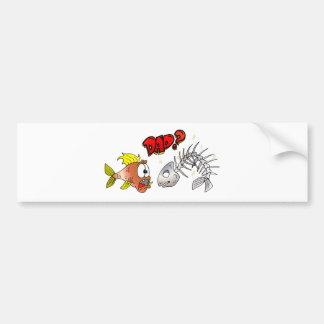 Fish Humor Bumper Sticker