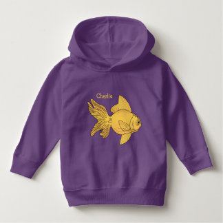 Fish Illustrations custom name clothing Hoodie