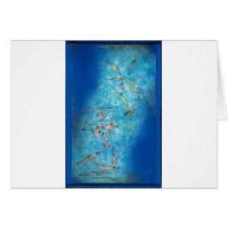 Fish Image - Paul Klee Card