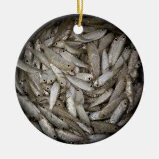 Fish in a Barrel Christmas Ornament