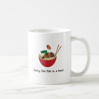 Fish in a bowl Funny Mug