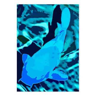 Fish in Aquarium Blues Business Cards