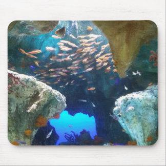 Fish in Aquarium mouse pad