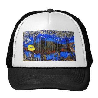 fish in bubble wrap mesh hats