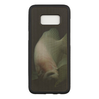 Fish in Tank Portrait Carved Samsung Galaxy S8 Case